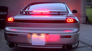 dodge stealth dodge stealth led halo taillight conversion style a youtube
