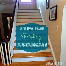 What Is A Banister On Stairs by Five Tips For Painting A Staircase With Before And After Photos