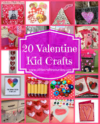 16 valentine kid crafts a little craft in your day