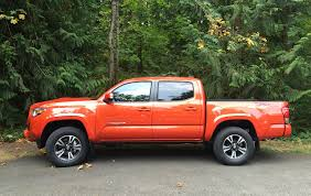Toyota Tacoma Double Cab Long Bed 2016 Toyota Tacoma More Refinement Power Mpgs And Capability
