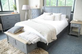 storm grey bedroom