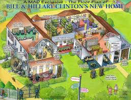 Chapaqqua Guess What The Clinton U0027s Chappaqua Mansion Is Fully Surrounded By