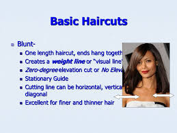 how to cut hair with a weight line hair cutting reference points are used to establish design