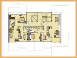 Floor Plan With Garage by Kitchen Bedroom House Floor Plans With Garage Room Plan Black