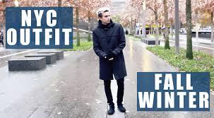 new york city vlog fall winter fashion classic men u0027s