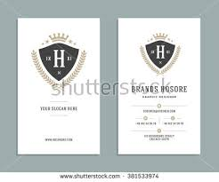 Crown Business Cards Business Card Design King Crown Logo Stock Vector 381533974