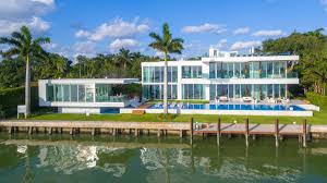 tour a 29 million modernist mansion for sale in miami beach