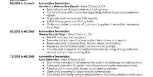 Sample Resume For Auto Mechanic by Vehicle Mechanic Resume Sales Mechanic Lewesmr
