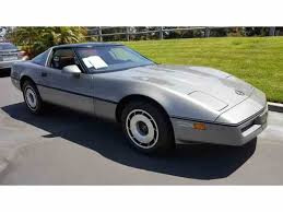 85 corvette price 1985 chevrolet corvette for sale on classiccars com 24 available