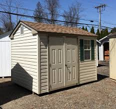 8x10 peak style storage shed pine creek structures
