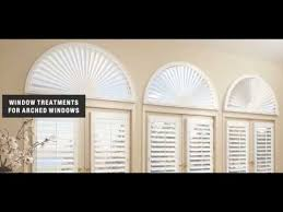 Wood Blinds For Arched Windows Arched Window Blinds Faux Wood For Home Ideas Youtube