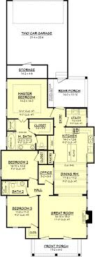 lake home plans narrow lot 223 best small house plans and ideas images on small