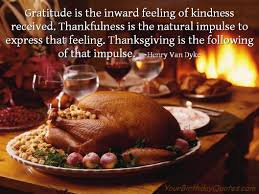 happy thanksgiving day quote yourbirthdayquotes