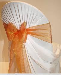 Wedding Chair Sash Mds Pack Of 100 Organza Chair Sashes Bow Sash For Wedding Banquet