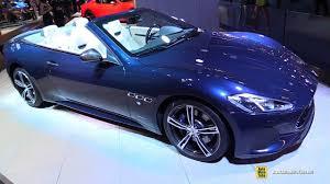 custom maserati interior 2018 maserati gran cabrio sport exterior and interior walkaround