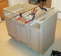 Diy Build Kitchen Cabinets Alternative Programming Or How To Diy A Kitchen Island From Build