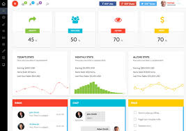 the best 20 free bootstrap admin dashboard templates for your next