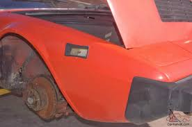 ferrari 308 gt4 stripped excellent italian project red on black