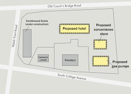 Convenience Store Floor Plans by New Hotel Convenience Store Gas Station Proposed For South