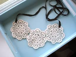 lace necklace patterns images Diy lace necklace tutorial jpg