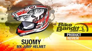 suomy motocross helmets suomy mx jump motorcycle helmet review bikebandit com youtube