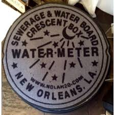 new orleans water meter new orleans market shop watermeter floormat whatsnew