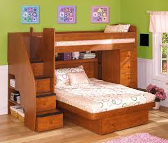 Navy Blue Bedroom by Cheap Bunk Beds With Stairs Varnished White Oak Wood Bunk Bed Kid