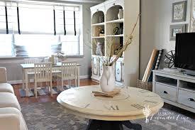 Clock Coffee Table Seeking Lavender House Tour Jpg