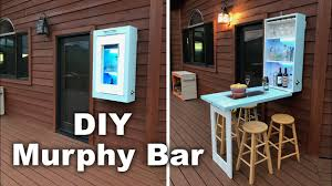 Diy Murphy Desk by Diy Murphy Bar Youtube