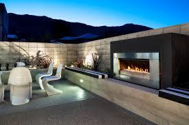 outdoor modern fireplace eye catching modern outdoor fireplaces