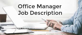 Upholstery Job Description Office Manager Duties