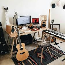 Home Recording Studio Design Cool Bedroom Studio Workspace Studio Pinterest Studio