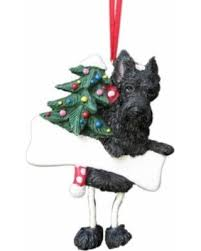 pre black friday sales on scottish terrier ornament with unique