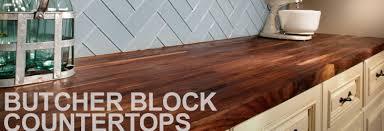 Butcher Block Countertops