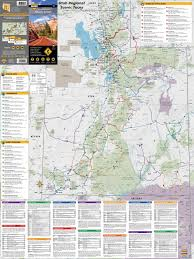 Road Map Utah by Mad Maps Usrt030 Scenic Road Trips Map Of Arizona And Utah