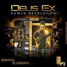 deus ex human revolution pc cover by eximmice on deviantart