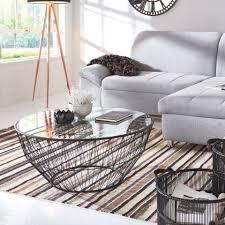 Wohnzimmertisch Skandinavisch Couchtisch Modern Design Metall Glas My Lovely Home My