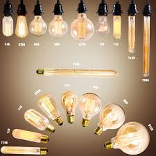industrial style lighting filament light bulbs vintage retro antique industrial style lights