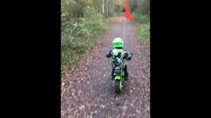 Whip Flag Funbikes Electric Monkey Bike With Buggy Whip Flag Youtube