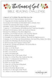 the names of god bible reading challenge rachelwojo