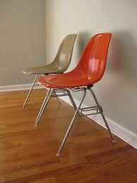 trendy eames shell chair eiffel tower base glide replacement on
