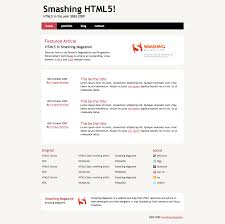 coding an html 5 layout from scratch u2014 smashing magazine