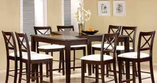 Dining Room Chairs Set Of 4 Dining Room 21 Photos Gallery Of Best Bar Height Dining Table