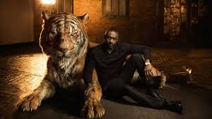 the jungle book voice actors glamorously pose with their cgi animals