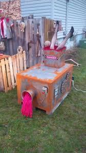 Spooky Halloween Prop Tutorials One Armed Grave Grabber Foam Halloween Prop Using Old Jeans Paint And Great Stuff Foam