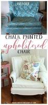 best 20 farmhouse upholstery fabric ideas on pinterest rustic thrifty french chair makeover annie sloan chalk paint