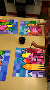 Second Grade Halloween Crafts 586 Best 2nd Grade Art Projects Images On Pinterest Elementary