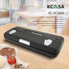 manual foodsaver kcasa kc vcm99 multifunction electric vacuum sealer food saver