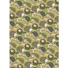 hedgehog wrapping paper paper source hedgehog gift wrap 7 95 roll gifts for