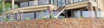 shop glass deck railing century invisirail fortress and more